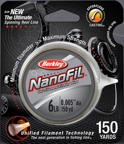 Berkley NanoFil Uni-Filament Fishing Line – 150 Yard (12-Pounds Test), Outdoor Stuffs