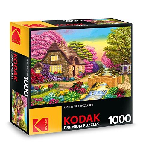 KODAK Premium Puzzles Dream Cottage Retreat Jigsaw - Premium Jigsaw
