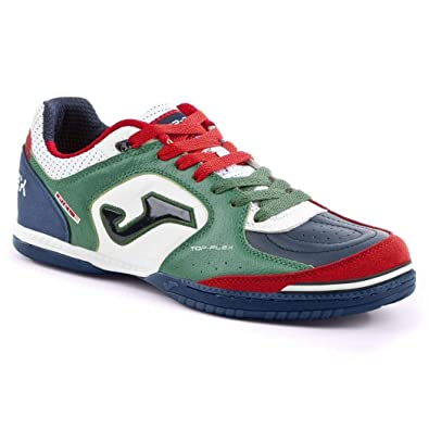 b76b01687 Joma Men s Futsal Shoes Bianco Verde Blu  Amazon.co.uk  Shoes   Bags