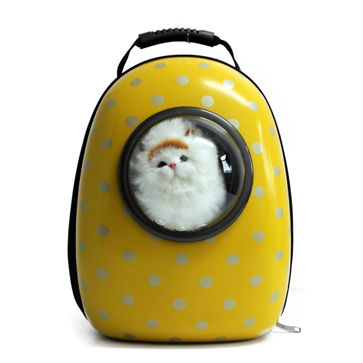 Women Luxury Portable Poly Carbonate Pet Carrier Backpack Travel Hand Shoulder Bag For Cat Dog,292342cm