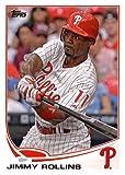 2013 Topps Baseball Card # 206 Jimmy Rollins