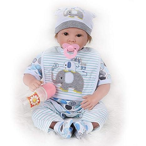 Tawcal Muñecas Bebé, 22 Pulgadas Alta Simulación Realista ...