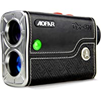 AOFAR GX-5N Golf Range Finder with Slope On/Off Indicator, Flag-Lock Vibration, 800 Yards with Hi-Precision Measuring 6X…