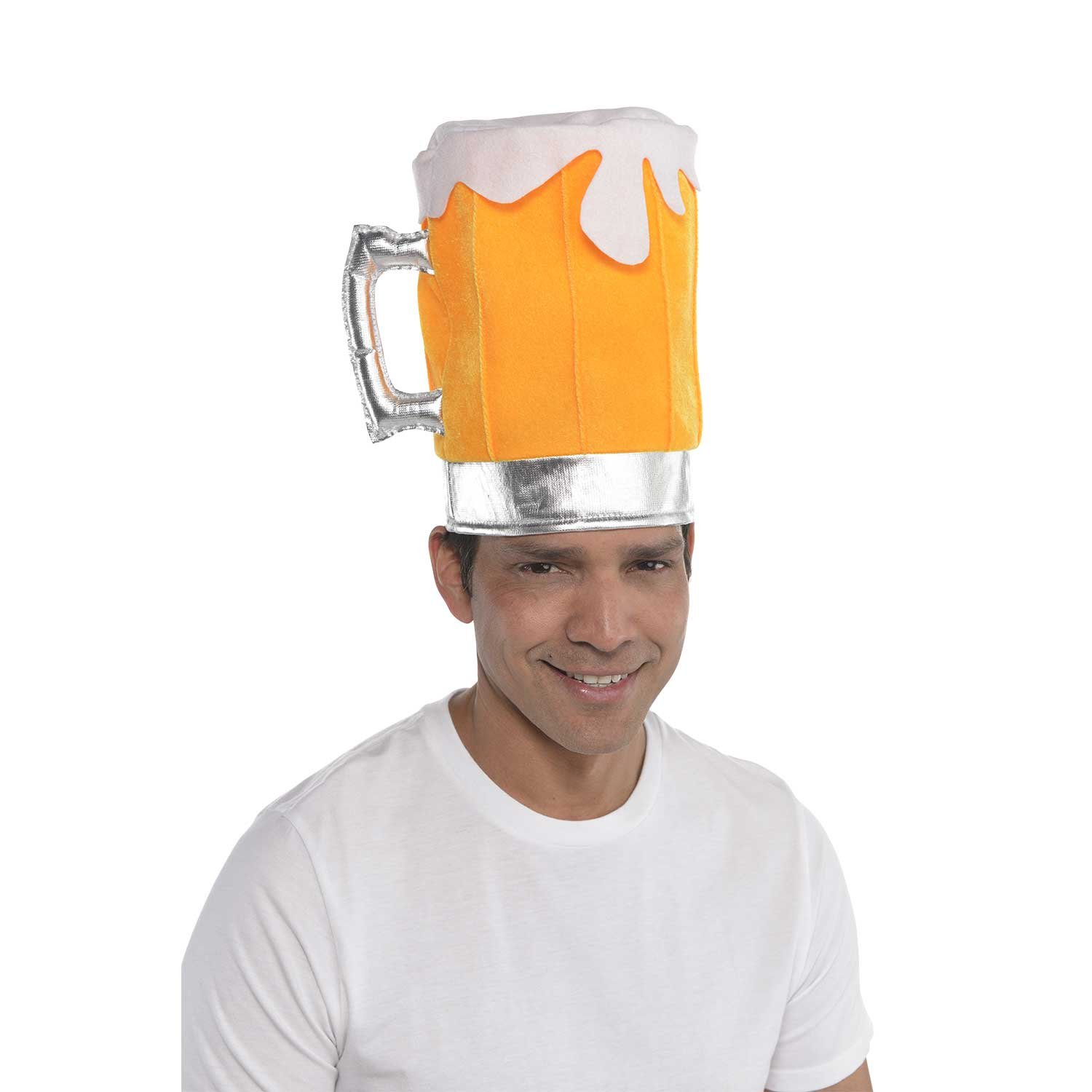 Beer Pint Pot Glass Hat Fancy Dress Stag Party Costume Accessory Party Chap 846195