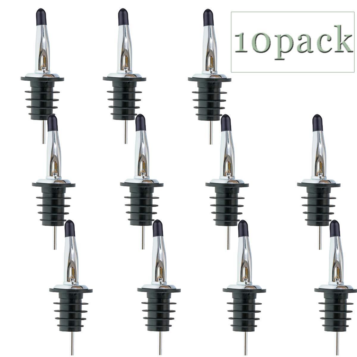 全ての (10) - LanMa Set Wine Pour B0757NZD12 Spouts Set - spout Stainless Steel bottle spout and Olive Oil Liquor Pourers Dust Caps Covers (10 PCS) 10 B0757NZD12, シーザーワイン カンパニー:e884cbe1 --- a0267596.xsph.ru