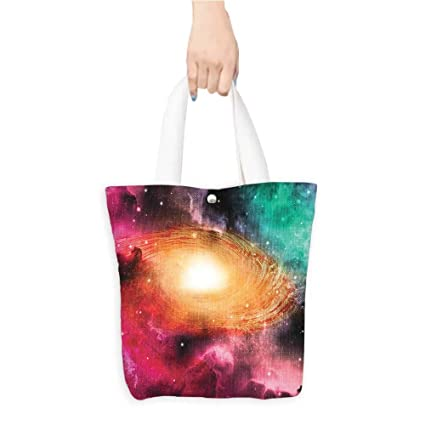 9c2af7c72871 Amazon.com: Best Canvas Grocery Shopping Bags Astr omy Pictur Spiral ...