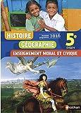 Histoire-Géographie-EMC 5e - Nouveau programme 2016