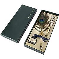 diaped Retro Feather Schreibfeder Pen Geschenkset