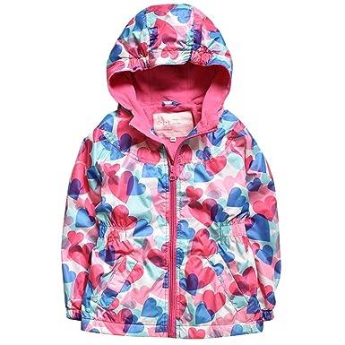0b95ef08c Waterproof Jacket Girls Fleece Winter - Kids Rain Jacket Long Liner ...