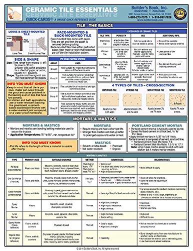 Ceramic Tile Essentials Quick-Card