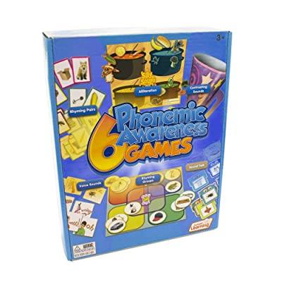 Junior Learning 6 Phonemic Awareness Game: Toys & Games