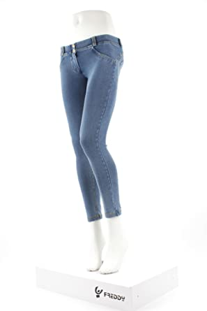 0673ee396e8 Freddy WR.UP Shaping Effect Low Rise Ankle Length (7 8) Jeans