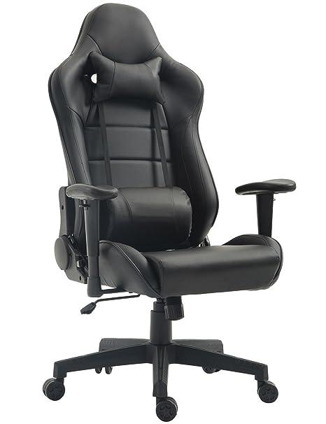 Tiigo Chaise Gamer Fauteuil De Bureau Chaise Ordinateur Hauteur