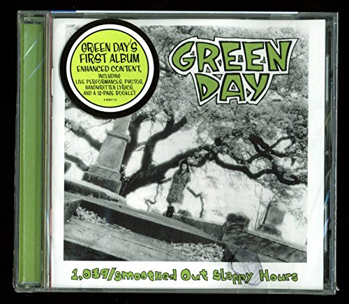 Green Day 1,039/Smoothed Out Slappy Hours Audio CD Unopened Un-signed by PRESS PASS COLLECTIBLES