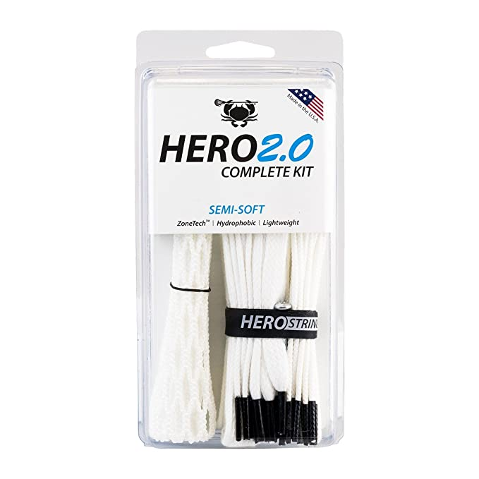 ECD Lacrosse Hero2.0 Complete Kit – Best Mesh for the Game