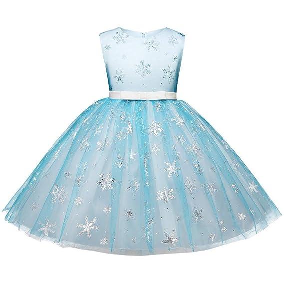 f62834e08 K-youth Vestidos para Niñas Vestidos De Fiesta para Niñas Navidad ...