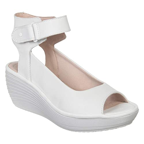 Reedly Willow White Sandals at Amazon