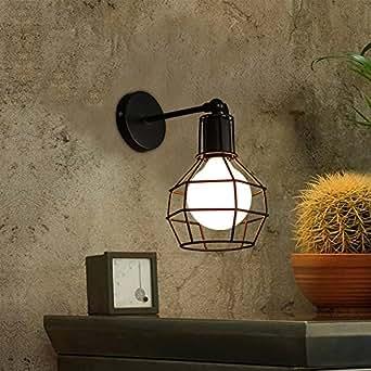 KOONTING Apliques de Pared Lámpara de Pared Lámpara Adecuado para Dormitorio, Sala, comedor, sala de estudio, baño, pasillo, etc(Shape:A)