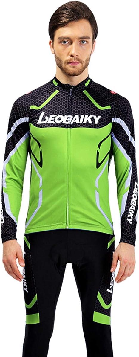 Beydodo Ropa Bicicleta Hombre Pantalones de Ciclismo de Invierno ...