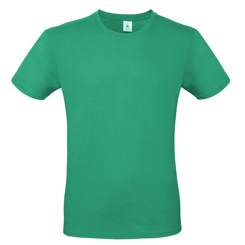 CHEMAGLIETTE Pacchetto 5 T-Shirt Uomo Magliette da Lavoro Cotone B/&C E150 Prezzo Stock