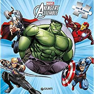 Avengers Assemble Libro Puzzle Ediz A Colori