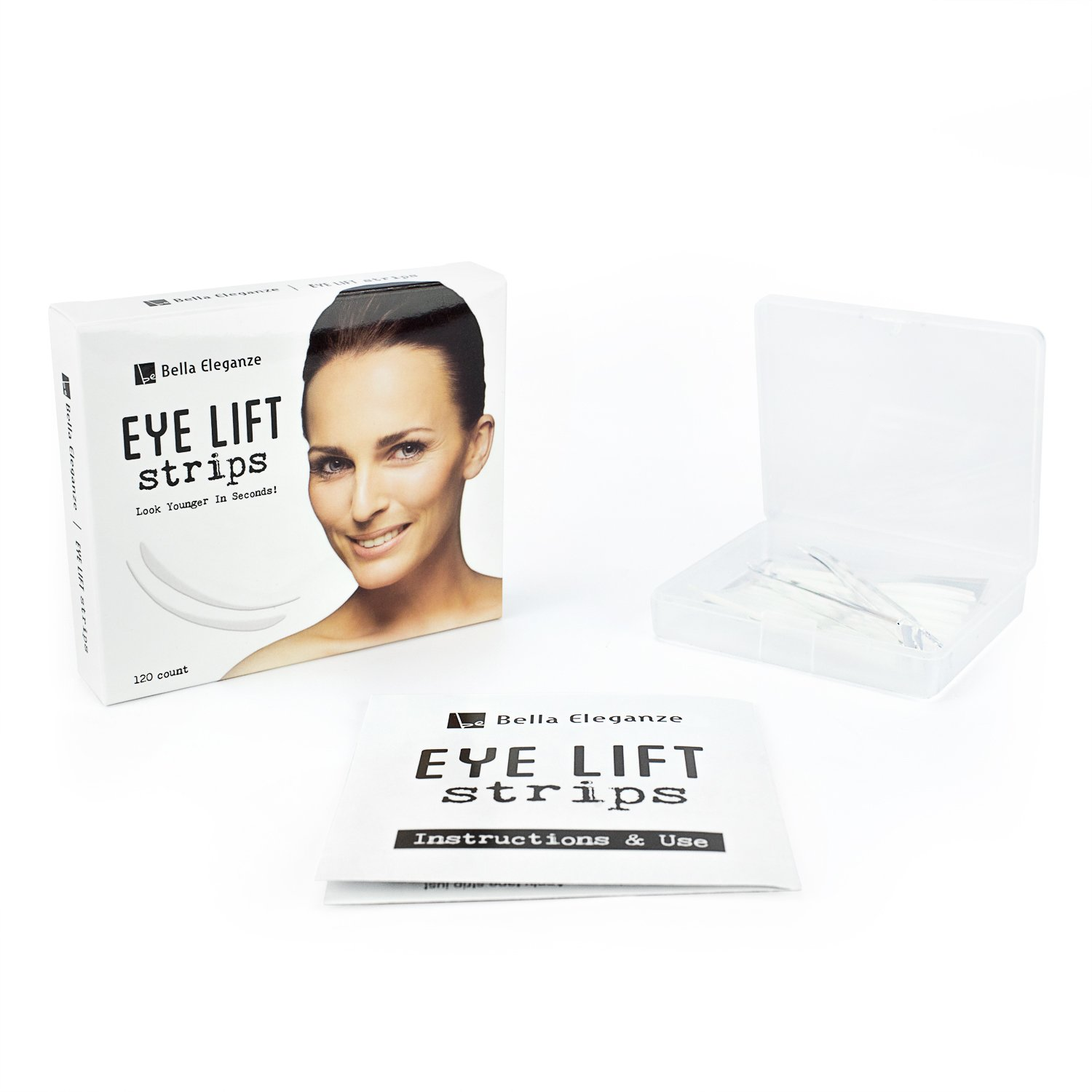 How to even out your eyelids without surgery youtube - Bella Eleganze Beauty Eyelid Tape Instant Eyelid Lift Without Surgery Achieve Big Beautiful Eyes