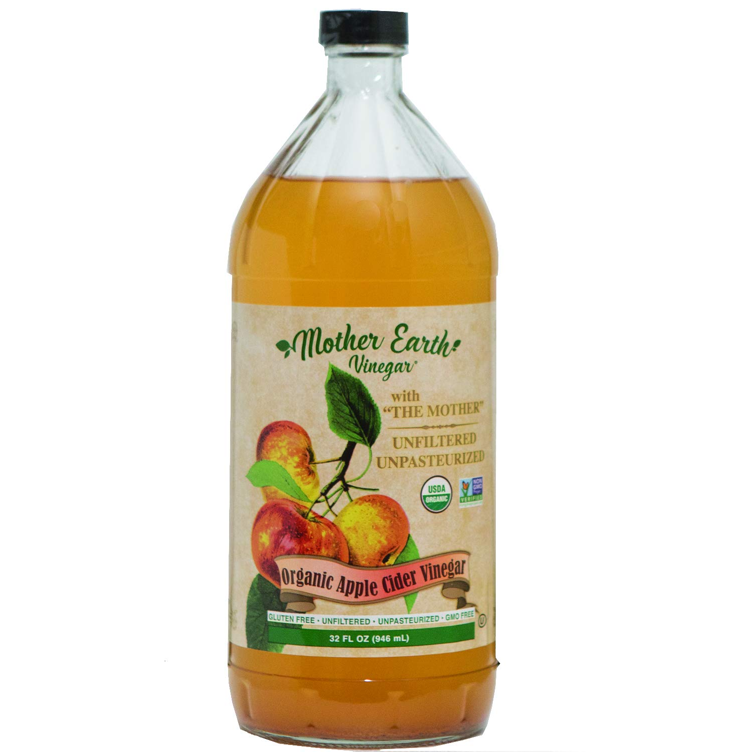 Mother Earth, Organic Apple Cider Vinegar