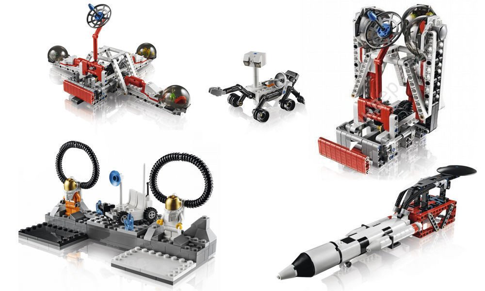 Space Challenge Set LEGO® MINDSTORMS® Education EV3 (Software ...