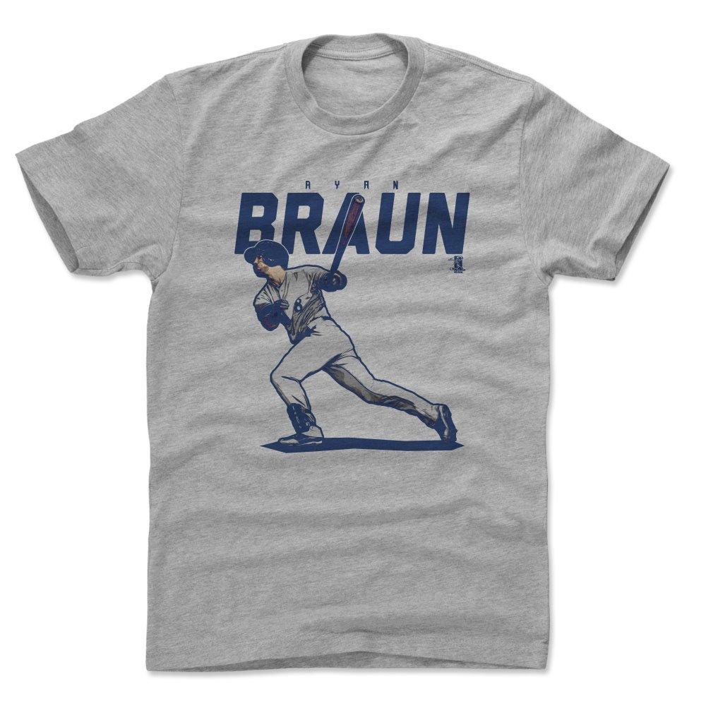 500 LEVEL Ryan Braun Shirt - Milwaukee Baseball Men's Apparel - Ryan Braun Score