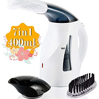 Heat Resistant Mitt and Brush AICOK Garment Steamer 20s Fast Heat-up Travel Iron 1000W Handheld Steamer with Travel Pouch Dual Steam Setting Travel Clothes Steamer