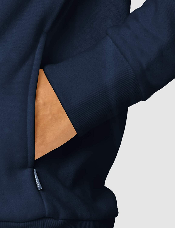 Superdry Applique Serif Hood Sweat-Shirt À Capuche Femme Bleu (Richest Navy Zrn)