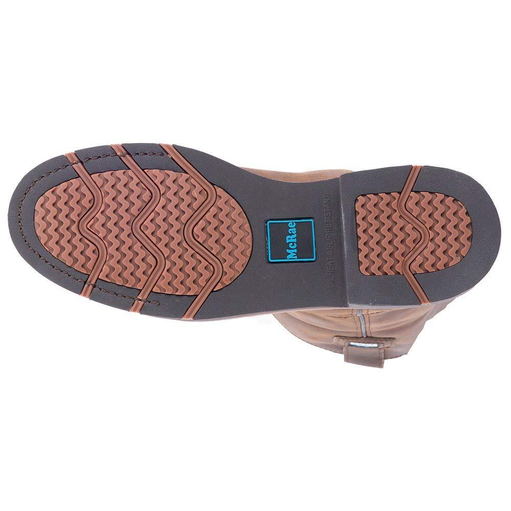 MCRAE Mens MR85384 Steel Toe Boot 9M Teak