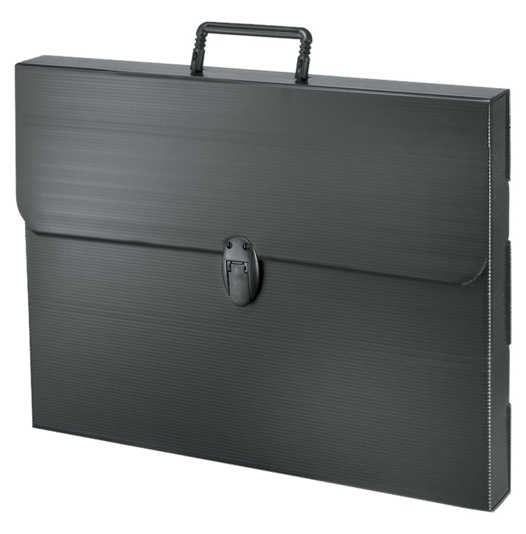 Negro Artcare 16990080 48 x 5 x 36 cm A3 Material sint/ético Funda Polylite