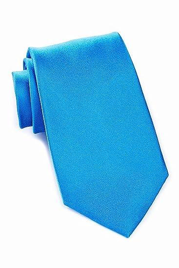 efcb3c2687171 Amazon.com: Nordstrom Rack Aqua Men's Dover Solid Neck Tie Silk ...