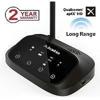 Avantree [Premium Version Oasis Plus 50M aptX HD HOHE REICHWEITE Bluetooth Transmitter Receiver für TV Audio, Home Stereo, Optisch kabelgebunden & Wireless gleichzeitig, Dual Link aptX Low Latency