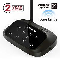 Avantree Oasis Plus Long Range Bluetooth HD Transmitter & Receiver 2-in-1