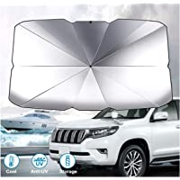 Car windshield sunshade, umbrella car sunshade used for windshield, can keep the car cool and undamaged, block high…