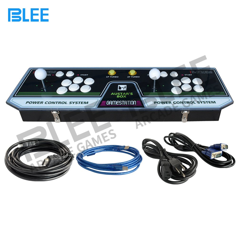 BLEE Plastic Double Stick Arcade Console - Pandora's Box 5s Arcade Gaming Console 999 Games - 2 Players Pandora Box 5S Arcade Console