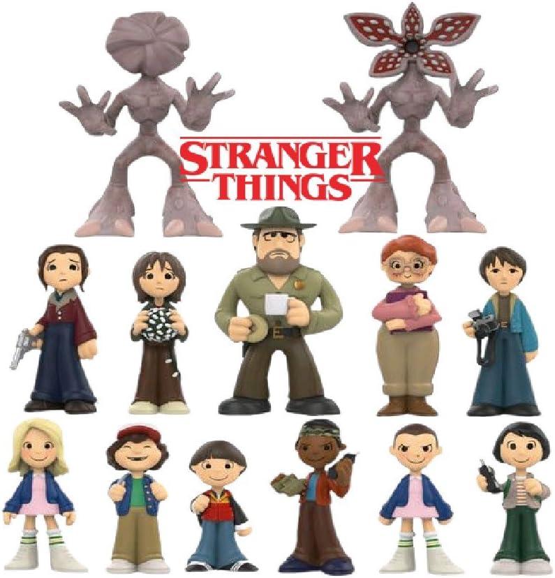 Mike Lucas Eleven Funko Mystery Mini Stranger Things Hopper Will Dustin