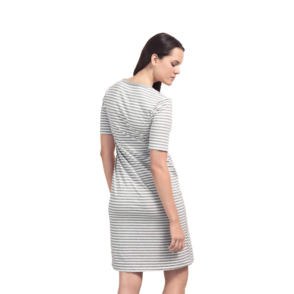 aa1fd6bbae57a Boob Design Organic Cotton Nursing Night Dress at Amazon Women's Clothing  store: