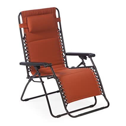 Attirant Coral Coast Padded Extra Wide Zero Gravity Chair