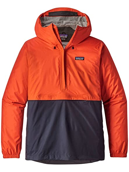 Amazon.com: Patagonia Torrentshell Pullover Rain Jacket Paintbrush ...