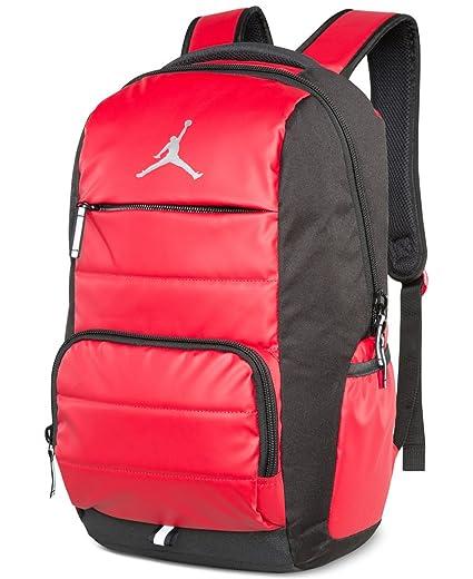 3d05194fd8 Amazon.com: Nike Jumpman Premium 9A1640-681 Laptop Bookbag Basketball Boys  Backpack - Gym Red: Computers & Accessories