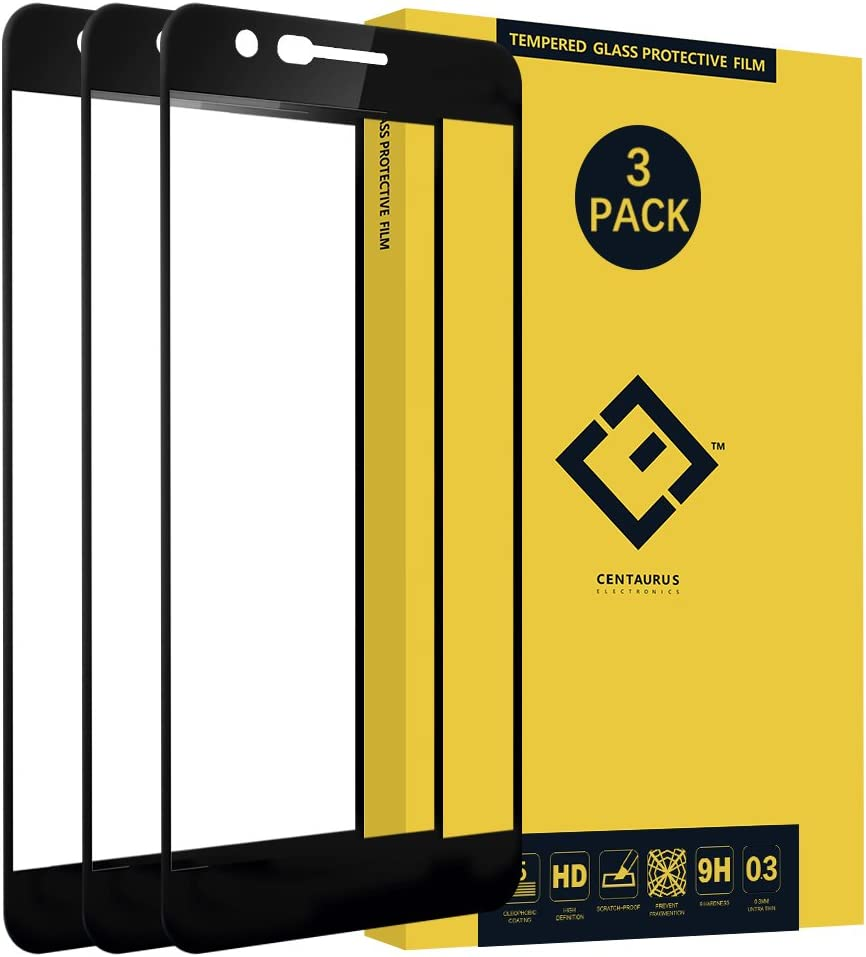 LG K30 Screen Protector-(3 Pack) Ultra-Thin 9H Full Coverage Silk Print Tempered Glass Protective Film for LG K10 2018 X410 / Xpression Plus AT&T / K11 Prime 2018/ Phoenix Plus/Premier Pro/Harmony 2