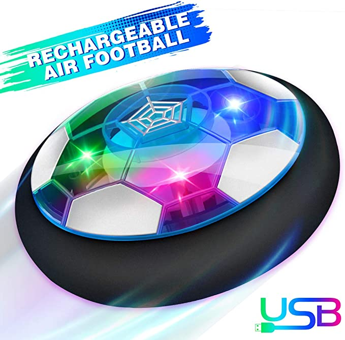 Baztoy Air Power - Balón de fútbol Recargable con luz LED para ...