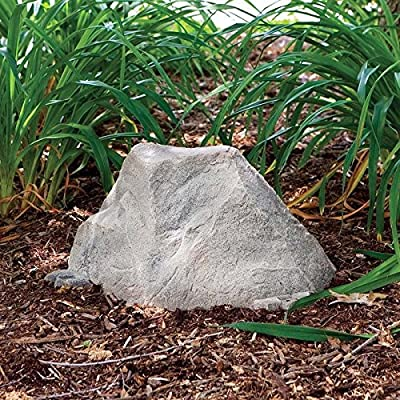 Dekorra Fake Rock Septic Cleanout Cover Model 105 Fieldstone : Garden & Outdoor
