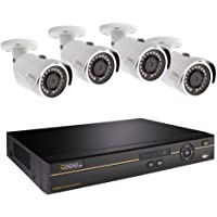Q-See 8-Channel 4-Camera 4MP Security System with 2TB HDD DVR