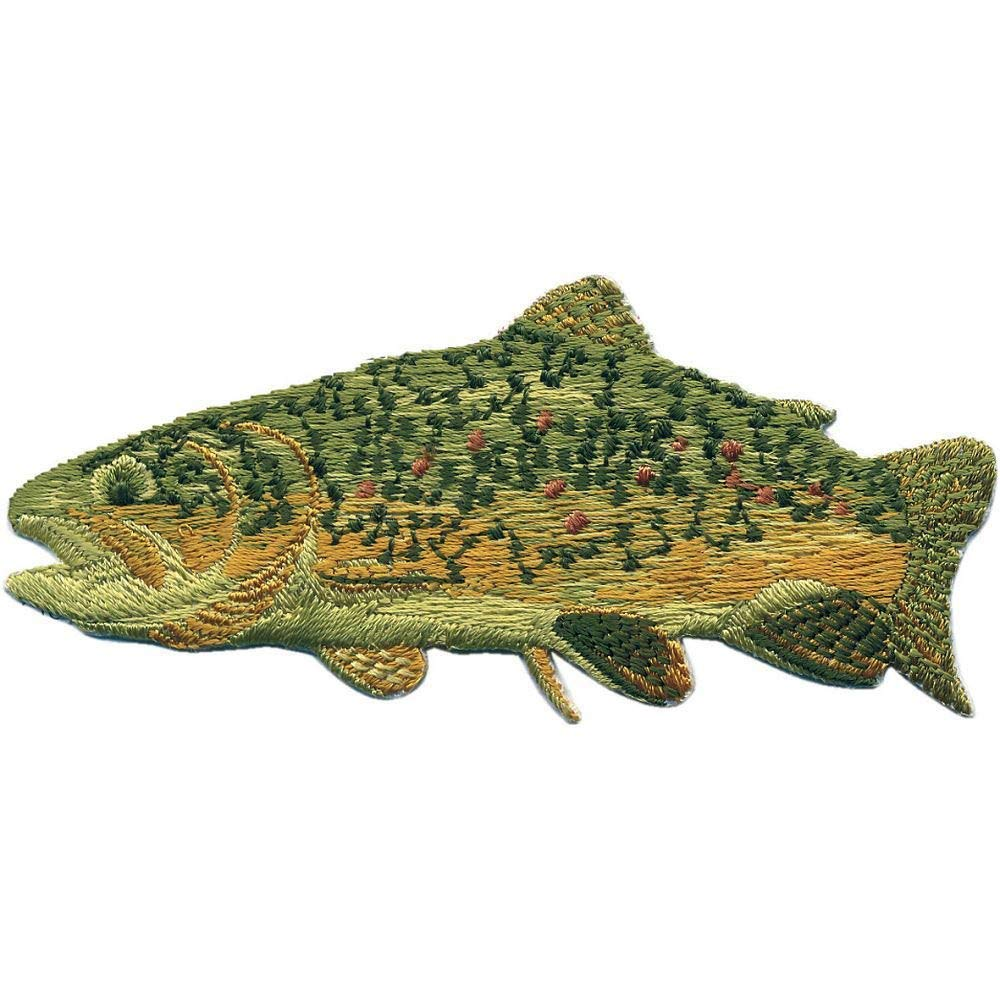 Patches Stick Applikation Aufn/äher 04675 Gr 9,5 x 4 cm Fisch ca