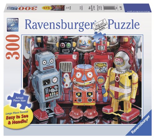 Tin Robots Large Format <br> (300-Piece)