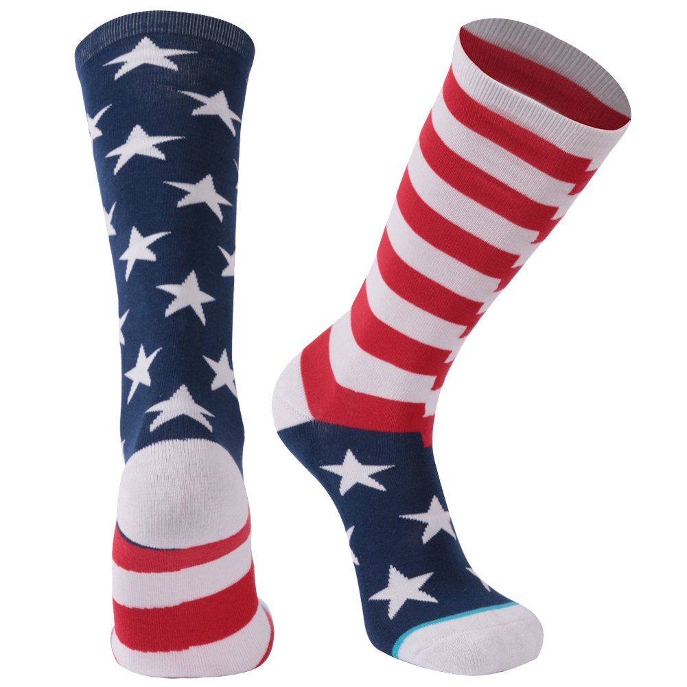 8b55d2c95108 Novelty Cool Crazy Gift Socks, Gmark Unisex Colorful Cartoon Cotton Socks  1-6 Pairs